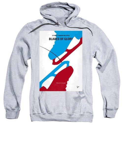 No562 My Blades Of Glory Minimal Movie Poster Sweatshirt