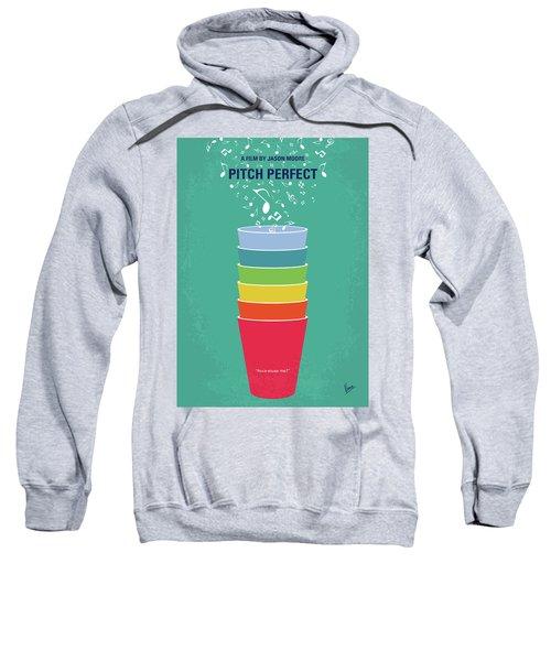 No660 My Pitch Perfect Minimal Movie Poster Sweatshirt