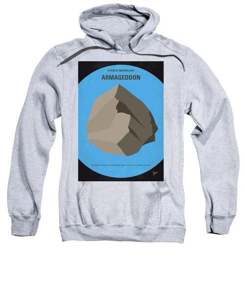 No695 My Armageddon Minimal Movie Poster Sweatshirt