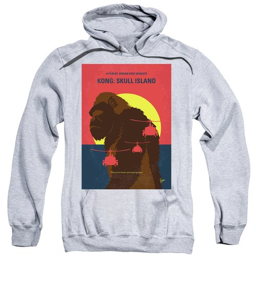 No799 My Skull Island Minimal Movie Poster Sweatshirt