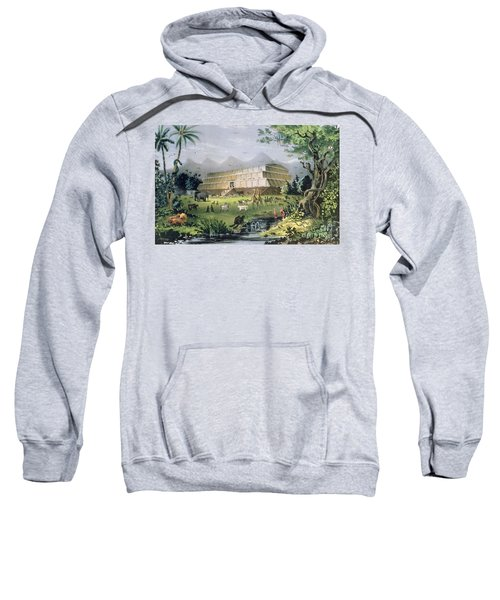 Noahs Ark Sweatshirt by Currier and Ives
