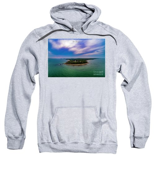 Nobska Lighthouse Panorama Sweatshirt