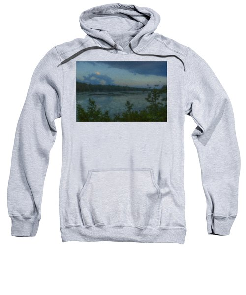 Nocturne At Ames Long Pond Sweatshirt
