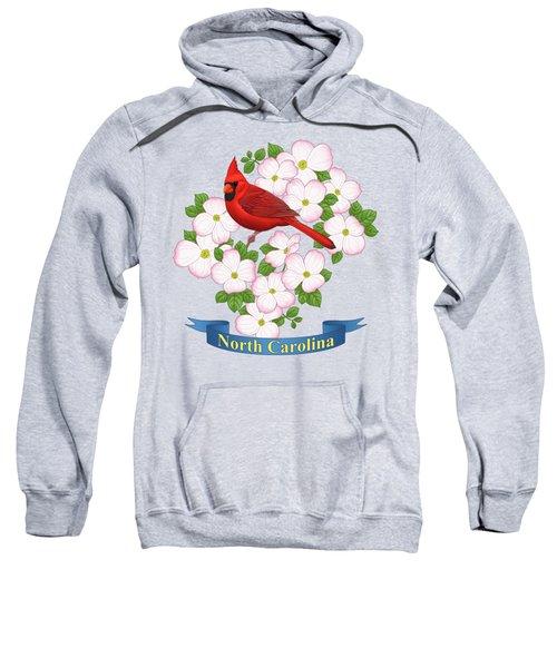 North Carolina State Bird And Flower Sweatshirt