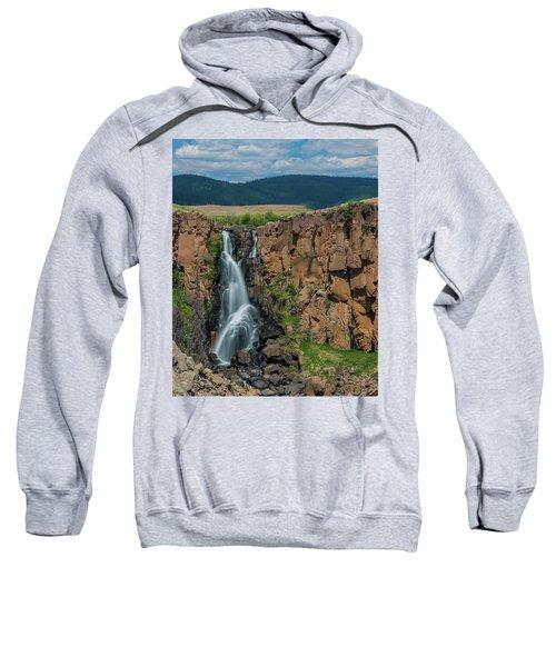North Clear Creek Falls, Creede, Colorado Sweatshirt