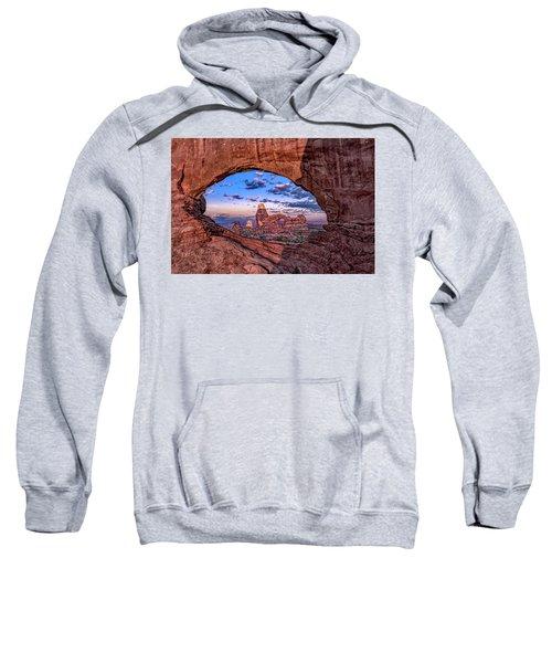North Window At Sunrise Sweatshirt