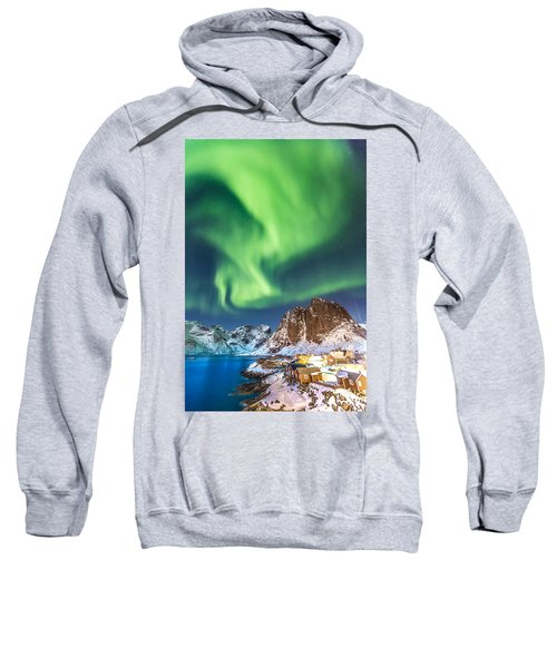 Northern Lights In Hamnoy Sweatshirt