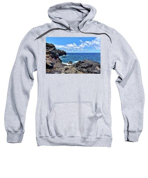 Northern Maui Rocky Coastline Sweatshirt