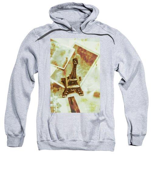 Nostalgic Mementos Of A Paris Trip Sweatshirt