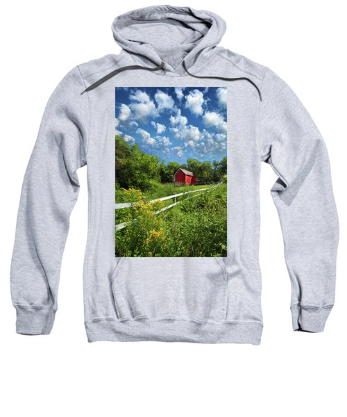 Noticing The Days Hurrying By Sweatshirt