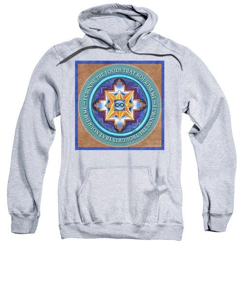 Nourish Mandala Prayer Sweatshirt