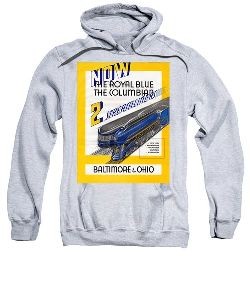Now The Royal Blue The Columbian Sweatshirt