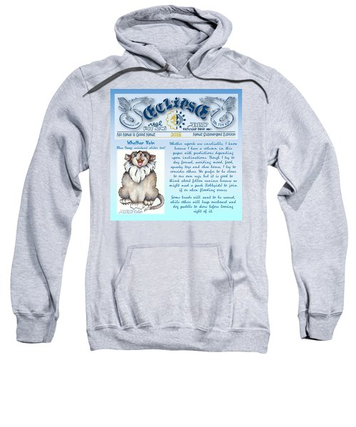 Real Fake News Blue Dawg Excerpt Sweatshirt