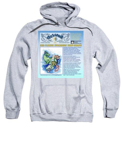 Real Fake News Excerpt Ship Shape Sweatshirt