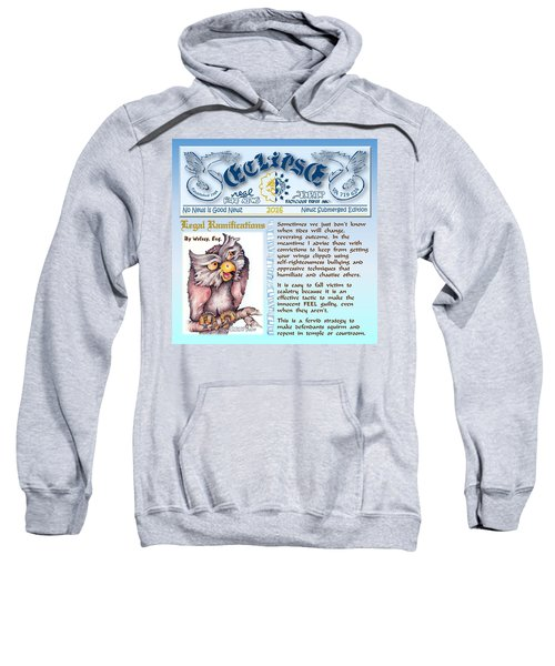 Real Fake News Legal Column Sweatshirt