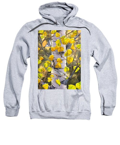 Nuthatches Sweatshirt