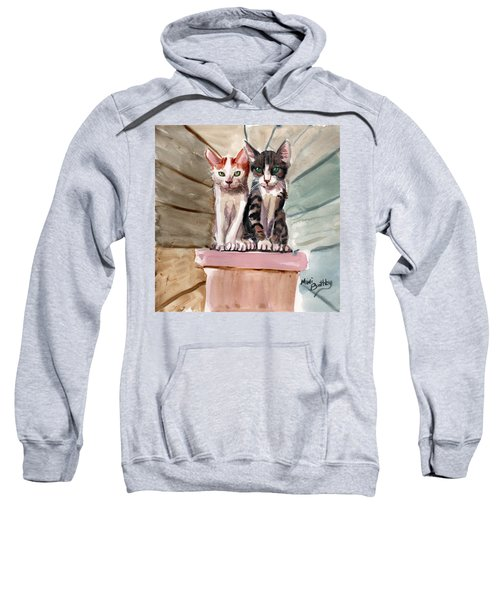 Obi And Lisa Two Kittens Sweatshirt