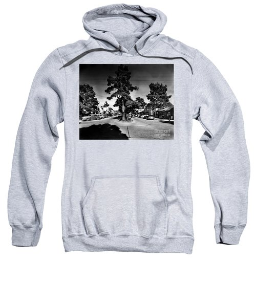 Ocean Avenue At Lincoln St - Carmel-by-the-sea, Ca Cirrca 1941 Sweatshirt