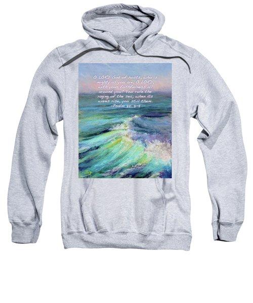 Ocean Symphony With Bible Verse Sweatshirt