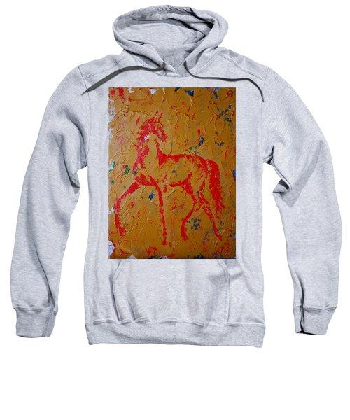 Ochre Horse Sweatshirt