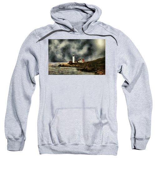 October Night, Portland Head Sweatshirt