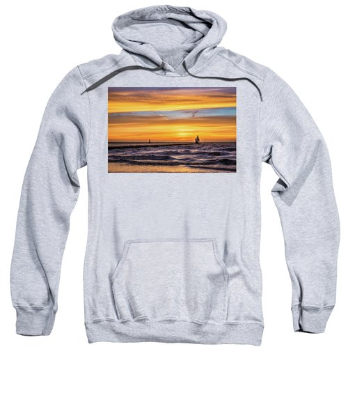 Sweatshirt featuring the photograph October Surprise by Bill Pevlor