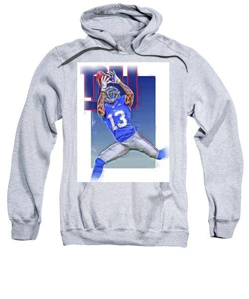 Odell Beckham Jr New York Giants Oil Art Sweatshirt