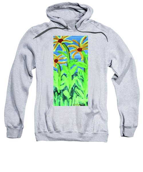 Oh Glorious Day Floral Sweatshirt