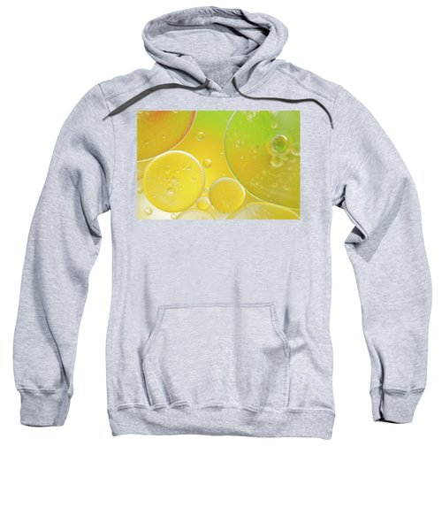 Oil And Water Bubbles  Sweatshirt