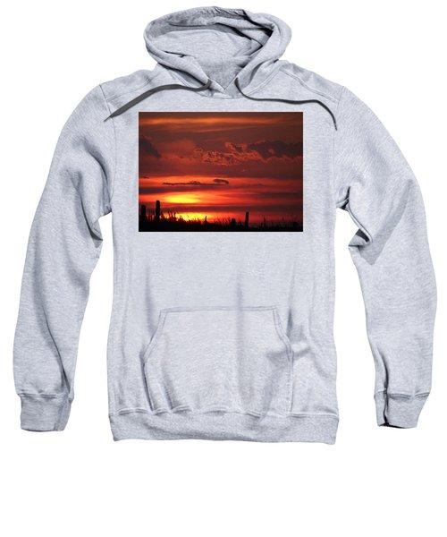 Oklahoma Sky At Daybreak  Sweatshirt