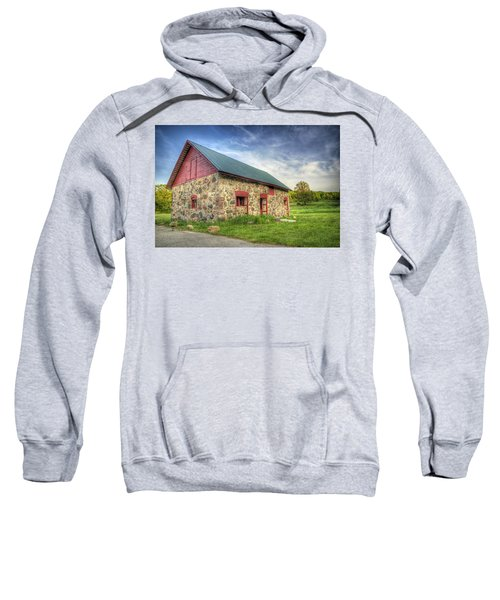 Old Barn At Dusk Sweatshirt