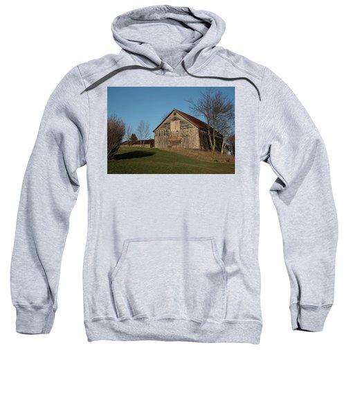 Old Barn On A Hill Sweatshirt