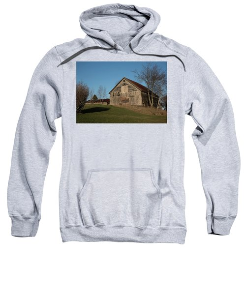 Old Barn On A Hill Sweatshirt