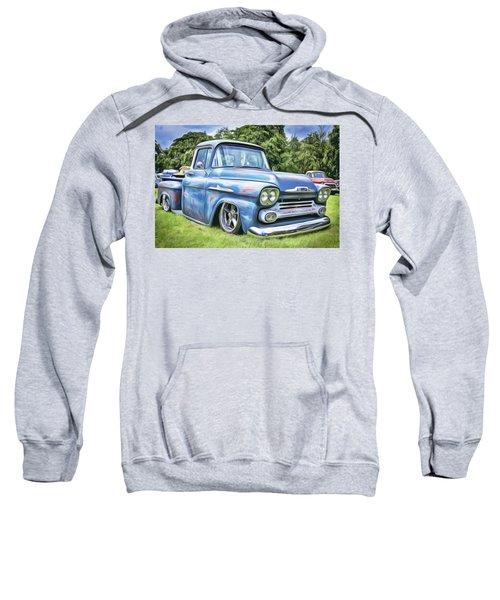 Old Blue Sweatshirt