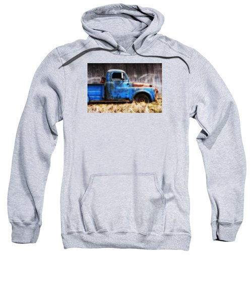 Old Blue Truck Sweatshirt