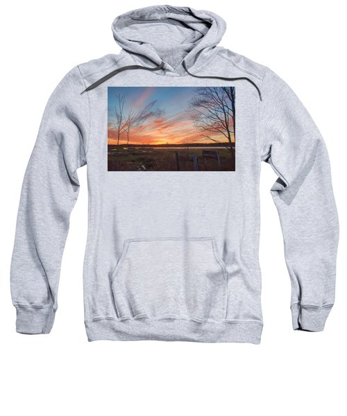 Old Bog Sunset Sweatshirt