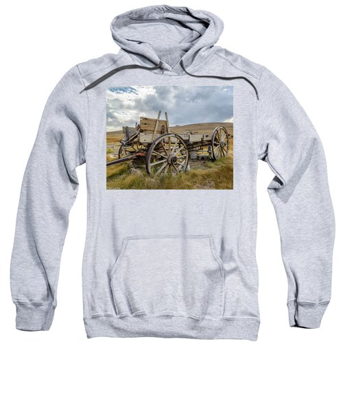 Old Buckboard Wagon Sweatshirt