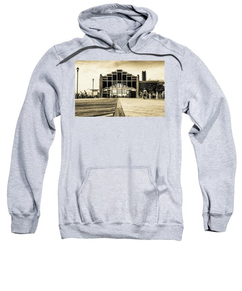 Sweatshirt featuring the photograph Old Casino by Stephen Holst