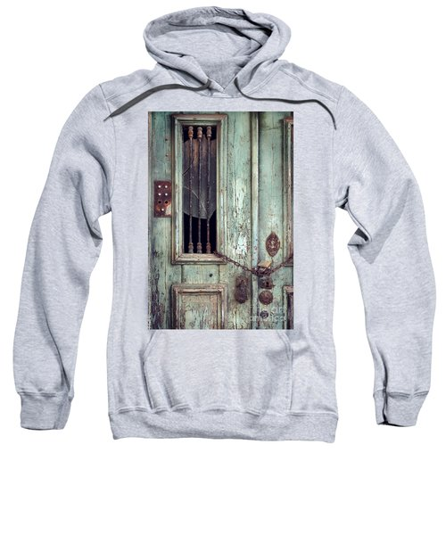 Old Door Detail Sweatshirt