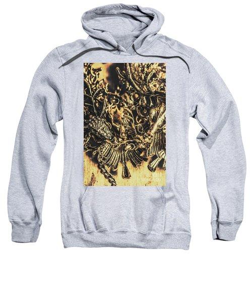 Old-fashioned Deer Jewellery Sweatshirt