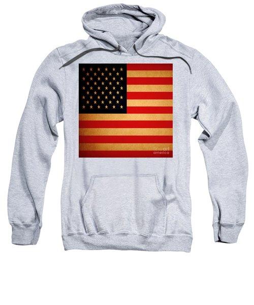 Old Glory . Square Sweatshirt