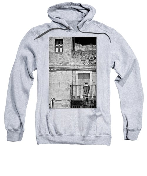 Old House In Taormina Sicily Sweatshirt by Silvia Ganora