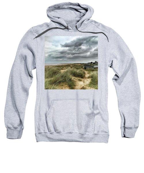 Old Hunstanton Beach, North #norfolk Sweatshirt