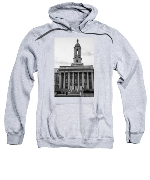 Old Main Penn State Black And White Sweatshirt by John McGraw