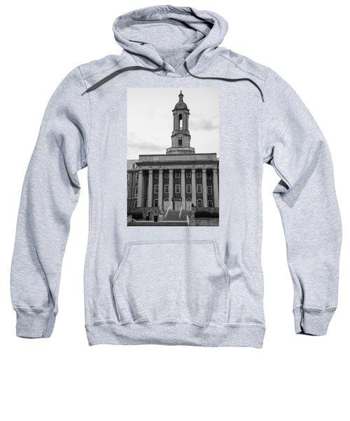 Old Main Penn State Black And White Sweatshirt