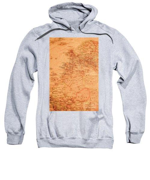 Old Maritime Map Sweatshirt