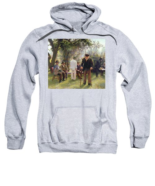 Old Men In Rockingham Park Sweatshirt
