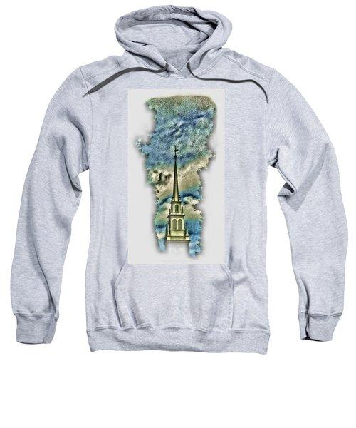 Old North Church Steeple Sweatshirt