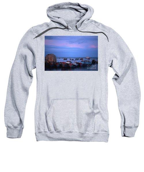 Old Port Of Nha Trang In Vietnam Sweatshirt