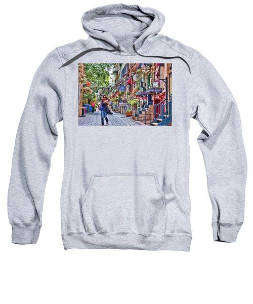 Old Quebec City Sweatshirt